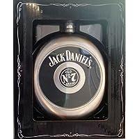 Jack Daniel s petaca Circular con extraíble centro vasos de chupito