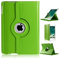 RKINC Case for Apple Ipad Mini 4, 360 Degree Rotating Stand Case Cover with Auto Sleep/Wake Function for Apple Ipad Mini 4(Green)