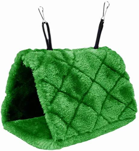 Plush Snuggle Pájaro hamaca para colgar Snuggle cueva feliz Hut Aves Loro Hideaway