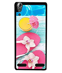 99Sublimation Designer Back Case Cover for Lenovo A6000 (Positive Electricity Potential Energy Potentiality)