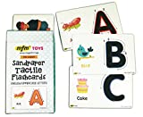 #4: MFM TOYS Sandpaper Tactile English Uppercase Letters Flashcards
