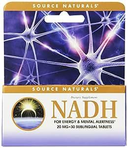 NADH 20 mg - Extrêmement forte - Augmente votre concentration
