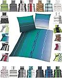 Microfaser Bettwäsche Set 2 Größen viele schöne Designs, 135x200 cm Kissenbezug 80x80 cm Design 11