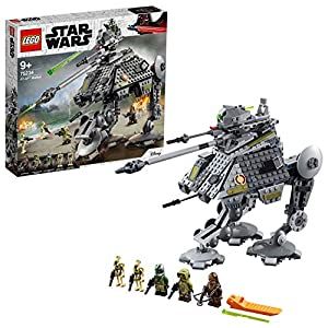 LEGO Star Wars - Caminante AT-AP, juguete de construcción y aventuras de La Guerra de las Galaxias con minifigura Chewbacca (75234)