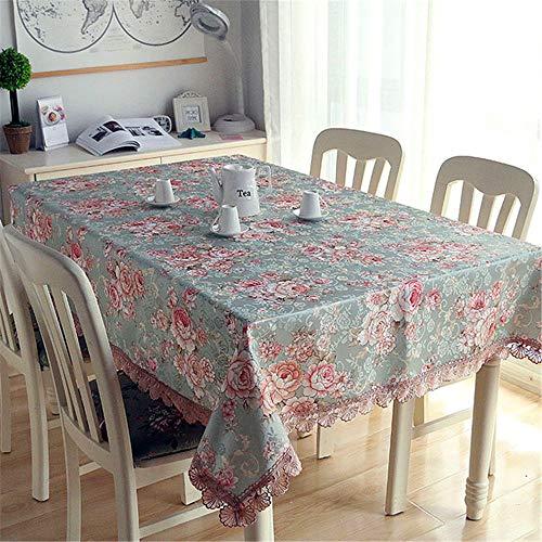 SONGHJ Home Küche Esszimmer Tischdecke Dekorationen Tischdecke Rechteck Party Tischdecken E 100x140cm