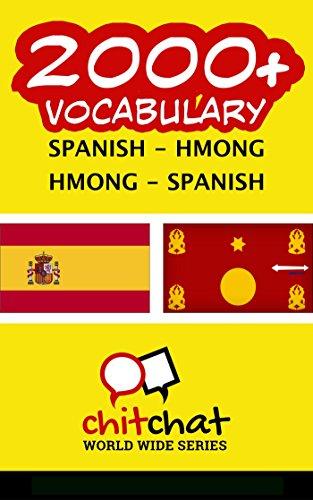 2000+ Spanish - Hmong Hmong - Spanish Vocabulary