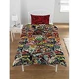 Para niños de Marvel Comics juego de sábanas para cama individual, multicolor, Cama sencilla