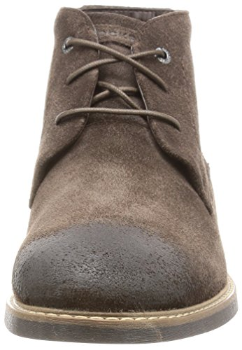 Rockport Herren Classic Break Chukka Boots Brown (Dark Bitter Chocolate Suede)