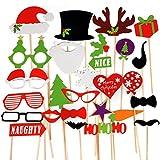 TRIXES Masques Divers Amusants pour Noël Accessoires de Fête