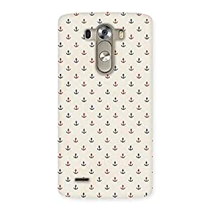 Enticing Sea Spirit Multicolor Back Case Cover for LG G3