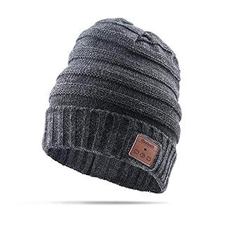 AIKER Bluetooth Hat Wireless Smart Music Headphone Beanie Hat for Winter Sports Washable