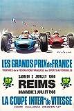 3 Reims Grand Prix Poster Vintage (Künstler: Beligond)