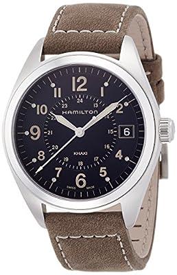 Hamilton Men's Analogue Quartz Watch with Leather Strap H68551833
