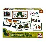 Schmidt Spiele Puzzle 56282 Die Kleine Raupe Nimmersatt, Meine ersten Puzzles, 9x2 Teile