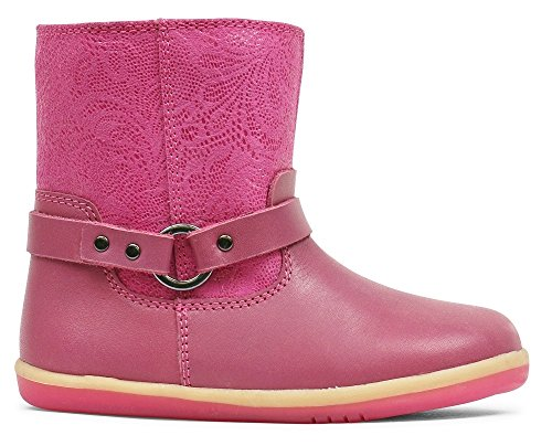 Bobux I-Walk Strap Boot, Baby Mädchen Krabbelschuhe & Puschen rosa Rose, rosa - Rose - Größe: 22.5 Bobux Rose
