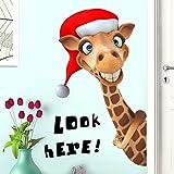 Giraffe Cartoon Aufkleber Kinder Zimmer Dekor Tapete Aufkleber Kreative Kindergarten Tapete