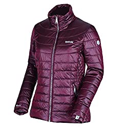 Regatta Damen Womens Metallia II Lightweight Water Repellent Down-Touch Atomlight Insulated Puffa Jacket Steppjacken, Rot-Beetroot, 16