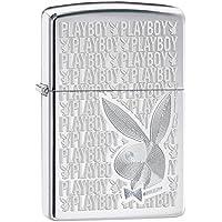 Zippo 2003869 - Accendino Playboy in cromo lucido