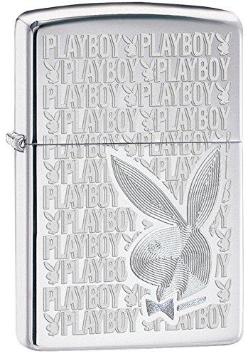 zippo-playboy-windproof-pocket-lighter-high-polished-chrome