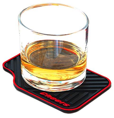artori-voiture-tapis-silicone-boisson-sous-verres-dessous-de-verre-cheer-grand-jeu-de-4-noir