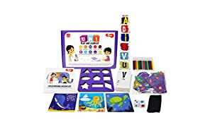 Toiing 10-in-1 Play and Learn Kit - 10 Educational Games & Activities for Kids from 3 to 5 Years, Multi Color