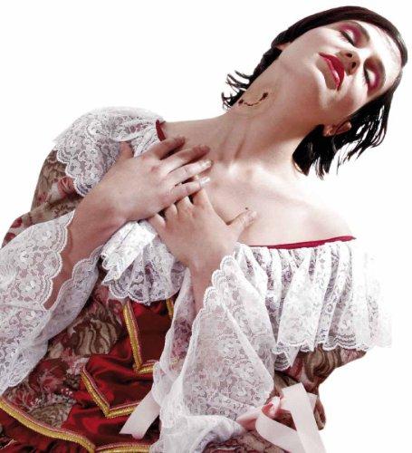 Vampir Bisswunde Wunde Vampirbiss Latex Applikation Blut Halloween
