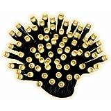 Kaemingk LED Ricelight aussen / 13,5m / 180 Lichter / schwarzes Kabel / warm weiße Dioden