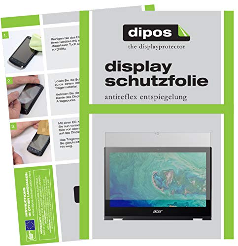 dipos I 2X Schutzfolie matt passend für Acer Spin 1 SP111-32N-P1PR Folie Bildschirmschutzfolie