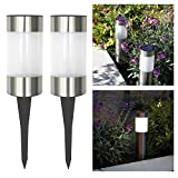 Frostfire Small Solar Post Lights (Set of 2) - Best Reviews Guide