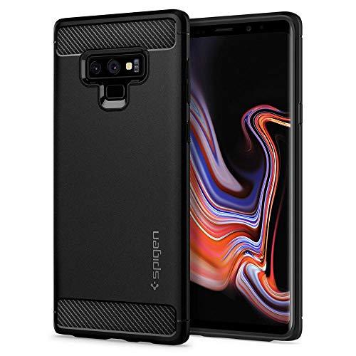 """spigen Rugged Armor 6.4"""" Funda Negro - Fundas para teléfonos móviles (Funda, Samsung, Galaxy Note 9, 16,3 cm (6.4""""), Negro)"""