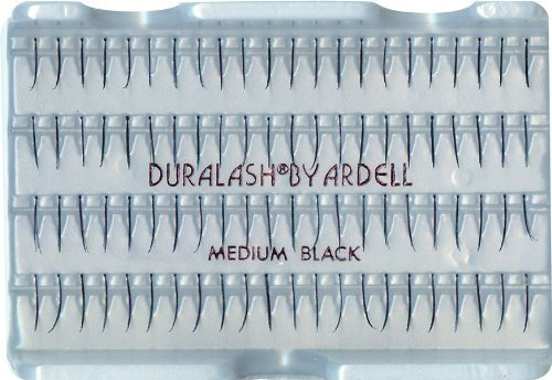 Ardell Duralash Regular False Eyelashes - Medium Black (Pack of 4) by Ardell