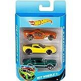 Hot Wheels - Pack de 3 vehículos