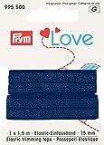 995500 Prym Love Elastic-Einfassband 15mm blau KTE  1
