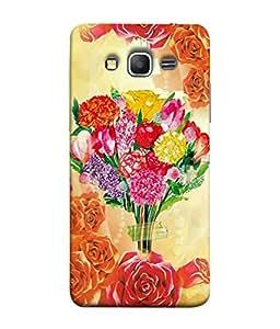PrintVisa Floral Bouquet 3D Hard Polycarbonate Designer Back Case Cover for Samsung Galaxy Grand Prime :: Samsung Galaxy Grand Prime Duos :: Samsung Galaxy Grand Prime G530F G530Fz G530Y G530H G530Fz/Ds