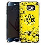 DeinDesign Samsung Galaxy S6 Hülle Case Handyhülle Borussia Dortmund BVB Fanartikel