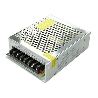 GPH® 49005E LED Netzteil Input:100 to 240V AC 50/60 Hz 12V DC / 120W 10A LED Trafo Adapter Driver Transformator für LED SMD RGB Leiste Stripe von EiMM GmbH bei Lampenhans.de