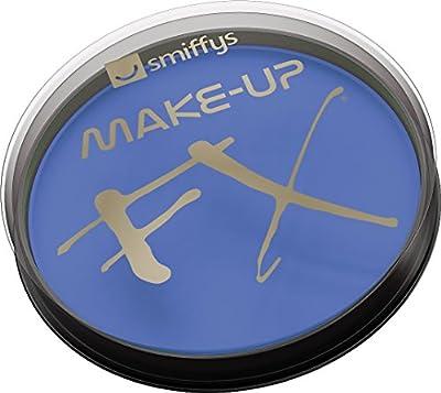 Smiffys Déguisement, Maquillage FX, Peinture à l'eau pour le visage et le corps, bleu royal, 16 ml, À base d'eau, 39135