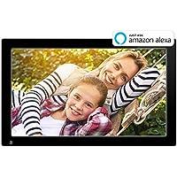 Cadre photo numérique Wi-Fi Nixplay 47 cm (18,5 pouces). Applications iPhone et Android, e-mail, Facebook, Dropbox, Instagram, Google Photos.