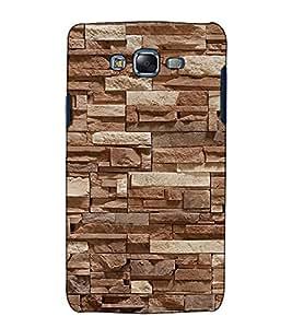 Fuson Designer Back Case Cover for Samsung Galaxy J5 (2015) :: Samsung Galaxy J5 Duos (2015 Model) :: Samsung Galaxy J5 J500F :: Samsung Galaxy J5 J500Fn J500G J500Y J500M (Stone Wall Theme)