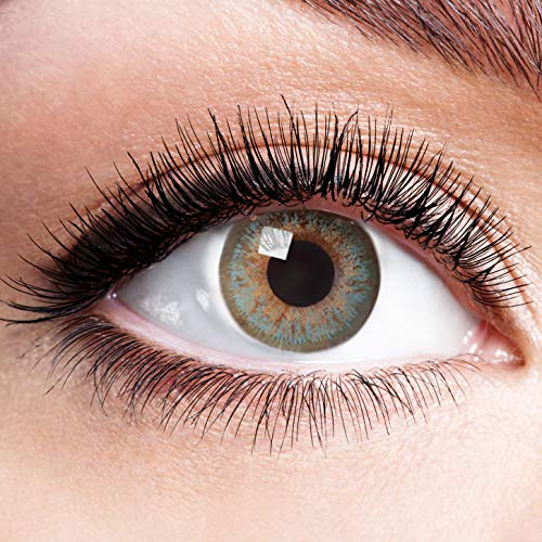 Farbige Kontaktlinsen Blau Ohne Stärke Weiche Natürliche Jahreslinsen Blaue Linsen Farblinsen 0 Dioptrien Natürlich Natural Light Crystal Blue