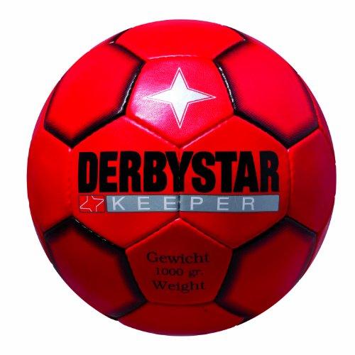 Derbystar Torwartball Keeper 1000 Gr., Rot/Schwarz, 5 Image