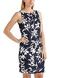 APART Fashion Damen Kleid to The North Coast Navy-White, Mehrfarbig (Marine-Creme), 44