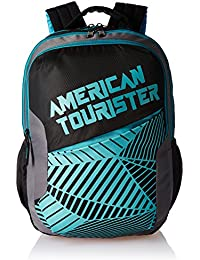 American Tourister 27 Ltrs Black Casual Backpack (AMT CRUNK 2017 BKPK 02- BLACK)