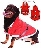 Unbekannt für  Hunde  - als Kostüm WeihnachtsmannWeihnachtsjacke für Hunde - Weihnachtskostüm / Nikolauskostüm / Karneval / Weihnachten / Nikolaus - Hund - Jacke - Ma..
