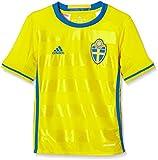 adidas Jungen Kurzarm Heimtrikot UEFA EURO 2016 Schweden Replica