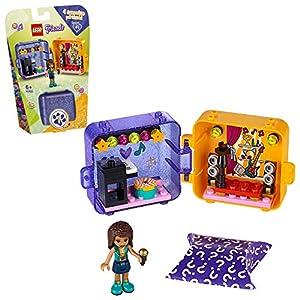 LEGO Friends - Cubo de Juegos de Andrea, Caja de Juguete con Accesorios y Mini Muñeca de Andrea, Set Recomendado a Partir de 6 Años (41400)