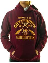 Gordon Stone - Sweat-shirt à capuche - Graphique - Uni - Manches Longues - Garçon Rouge Rouge