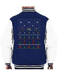 Chip N Dale Christmas Rangers Men's Varsity Jacket