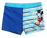 Mickey Mouse Kollektion 2018 Badeshorts 92 98 104 110 116 122 128 Jungen Sommer Badesachen Schwimmsachen Mouse (Blau, 128)