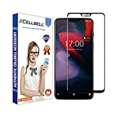 #8: CELLBELL® Oneplus 6 (Full Glue)(Edge to Edge)(Black) Tempered Glass Screen Protector with Free Installation Kit